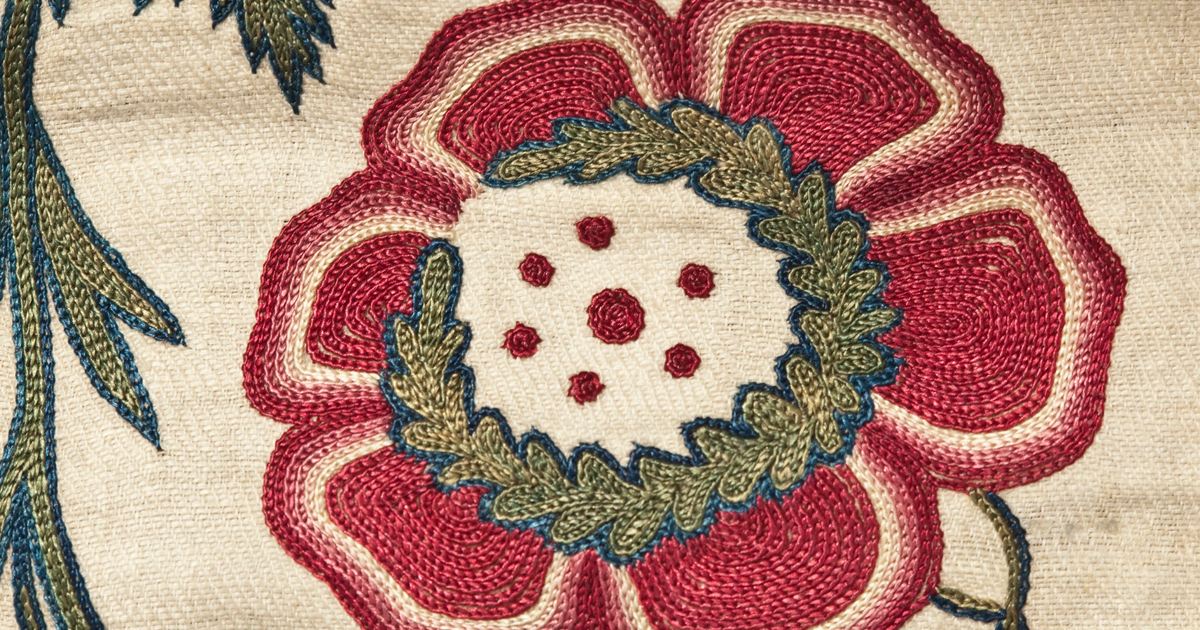 Tambour Embroidery 18th Century Notebook