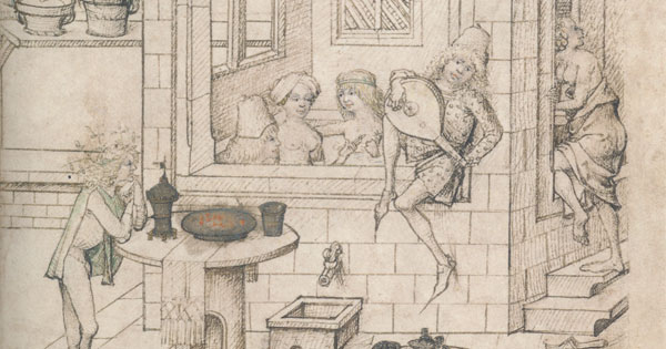Baths And Bathing In The Middle Ages Renaissance