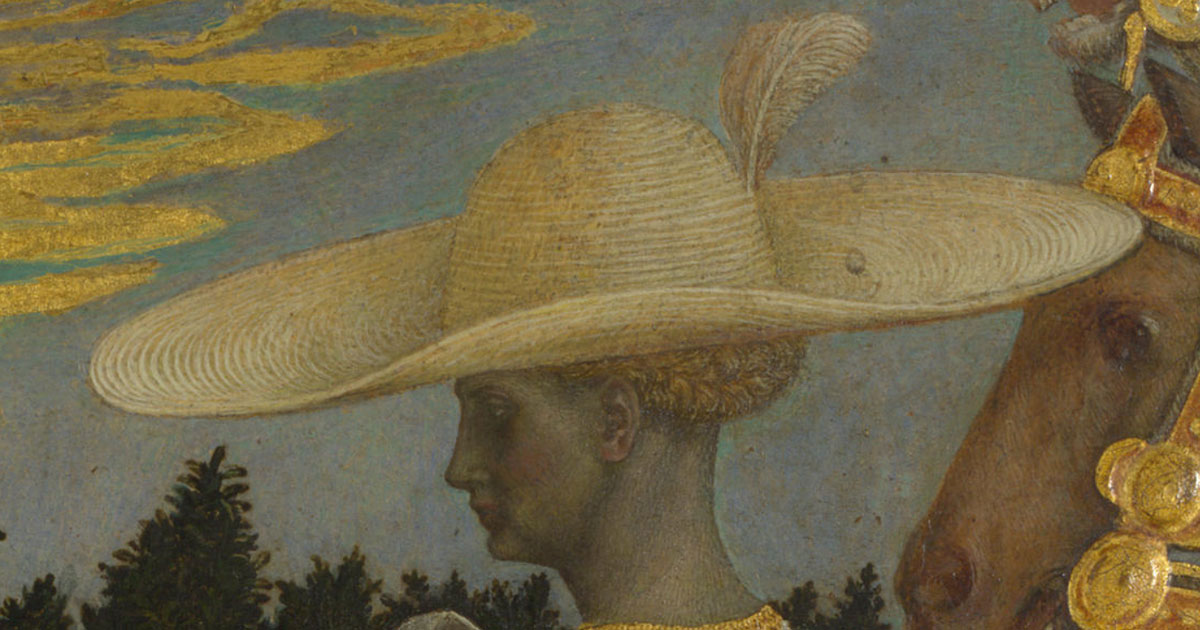 b148276a Straw Hats in Medieval and Renaissance Art
